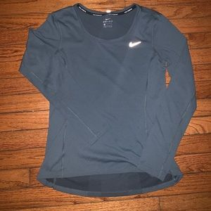 Long sleeve Nike running tee